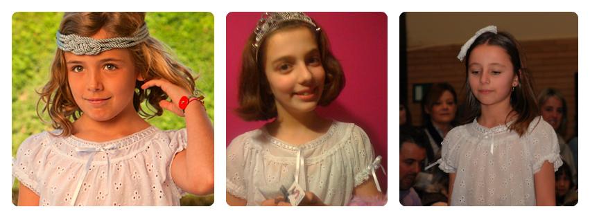 Camisón para niña modelo Kassia, de Sueños de Carlota