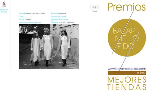 Fin Premios Bazar Me Lo Pido